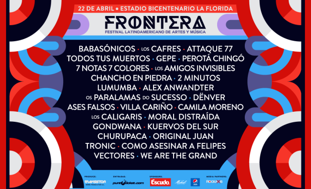 line up frontera festival