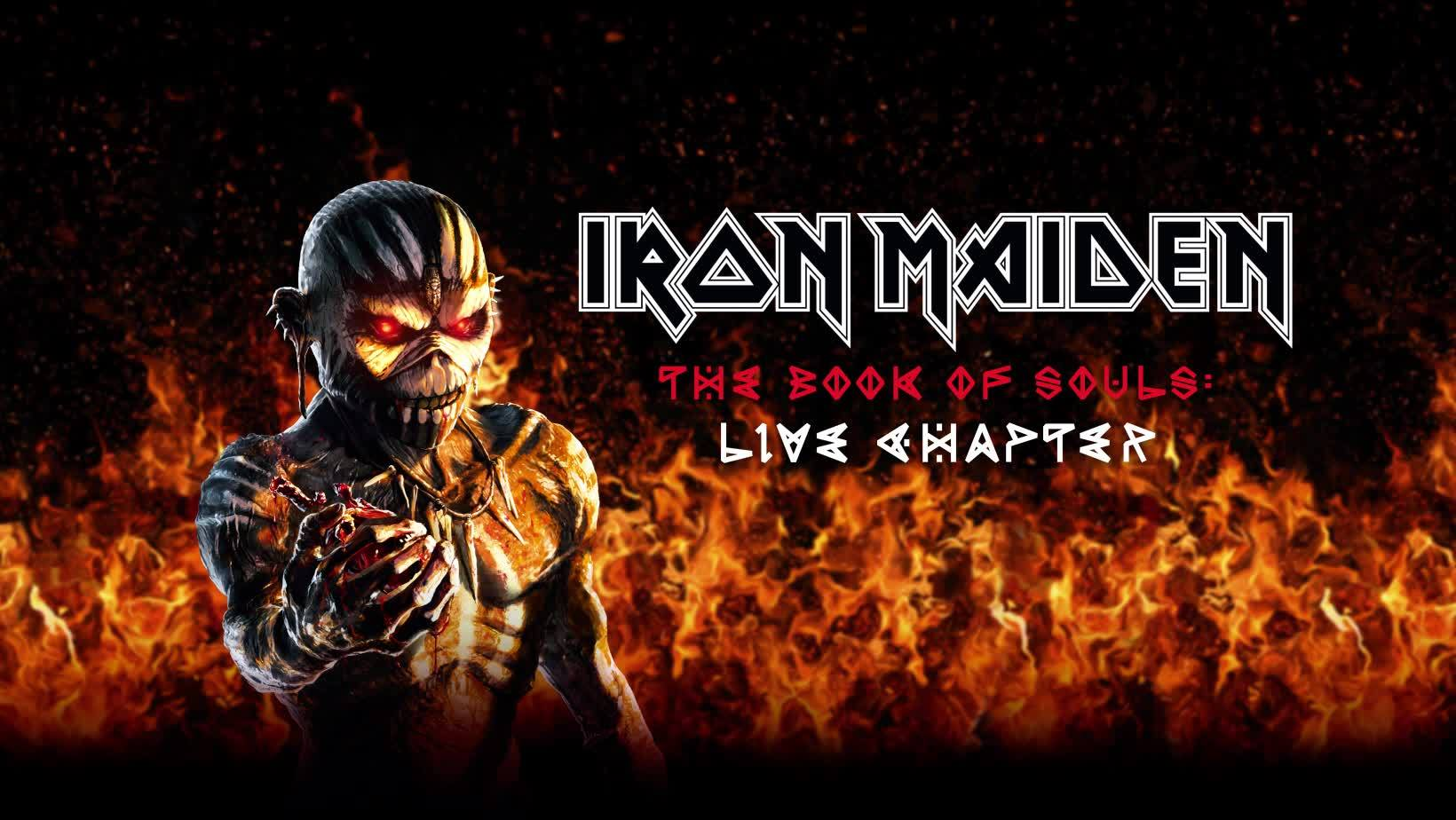 Review Iron Maiden The Book Of Souls Live Chapter Blast